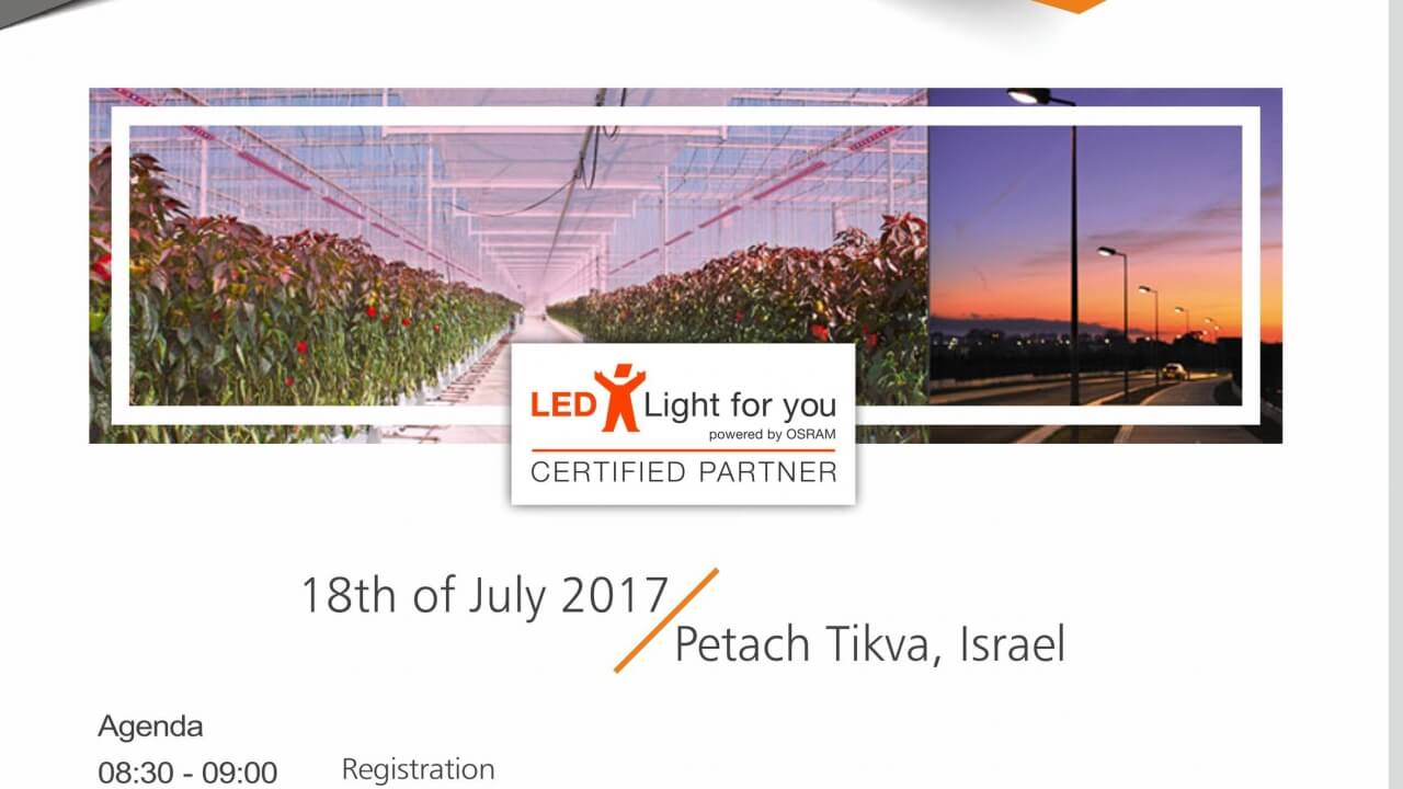 LLFY and Its Partners Meets in Israel for Workshop !