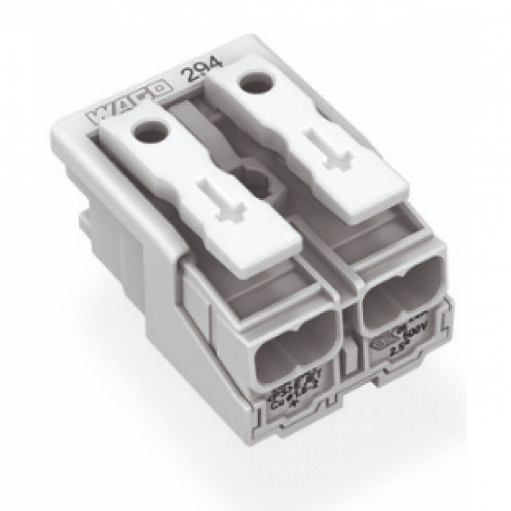 2 Poles Lighting Terminal Block