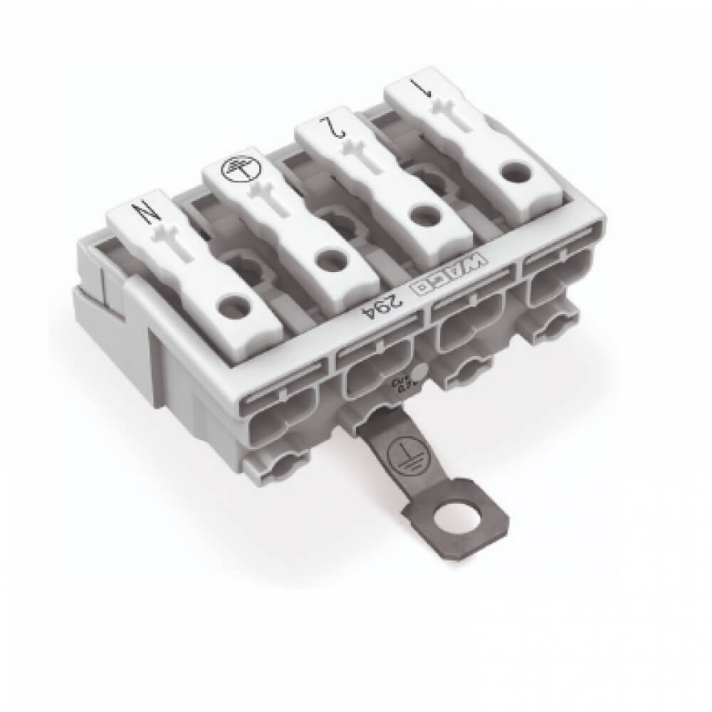 3 Poles Lighting Terminal Block