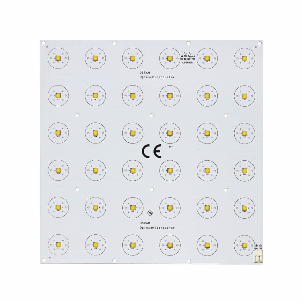 RC-A1-205X205mm-SQRX36 Led Modül